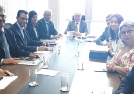 Anaspra e deputado Gonzaga participam de reunião no STM sobre CPM e CPPM