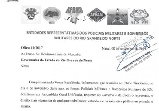 Associações protocolam ofício ao governador do Estado