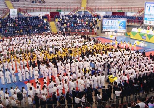 Atletas de Karatê da ASSPMBMRN são destaques em campeonato internacional