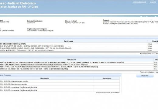 Nota à população sobre ação ajuizada pelo Governo do RN
