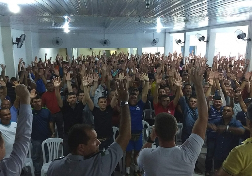 Militares estaduais decidem pela interrupção das atividades a partir do dia 17 de junho