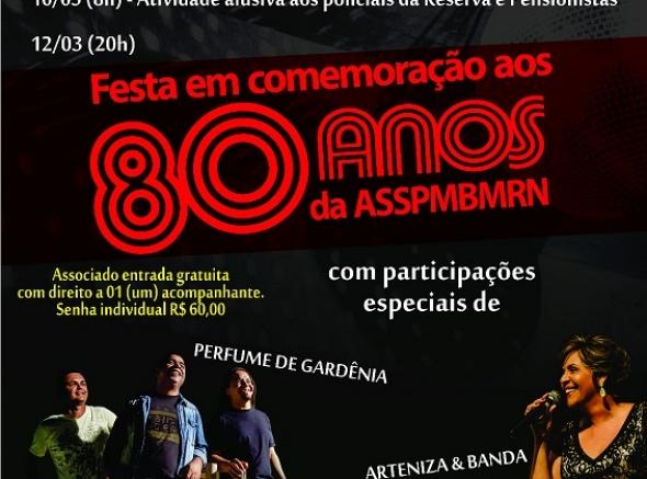 80 anos da ASSPMBMRN é comemorado em março