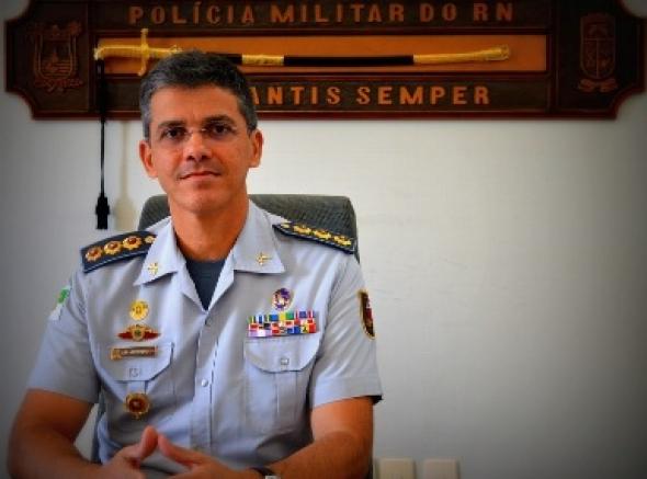 Pedido de exoneração do Comandante-Geral da PMRN, André Azevedo, é boato