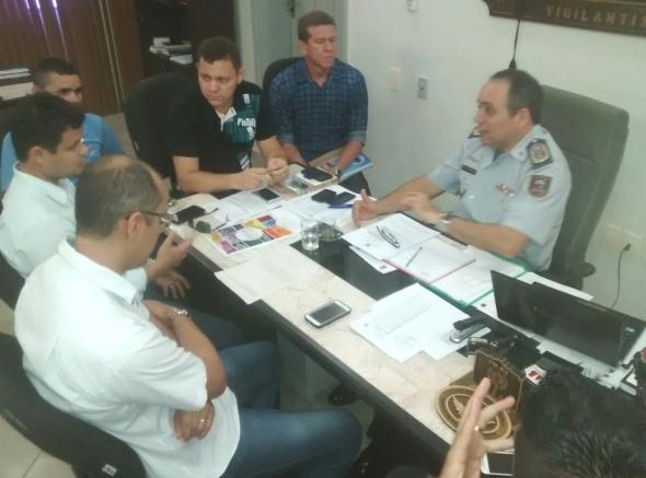 Presidentes das Associações Militares tem reunião com Comandante da PMRN