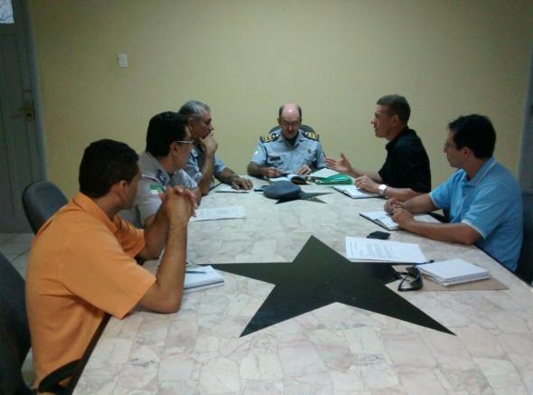 Reunião no Comando Geral da PM dá andamento a demandas dos praças