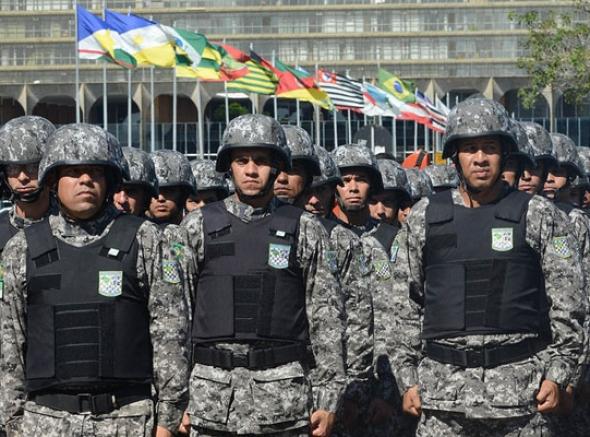 Mobilização de policiais na Força Nacional tem prazo máximo instituido de 2 anos