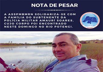 Nota de pesar – Subtenente Amauri Soares