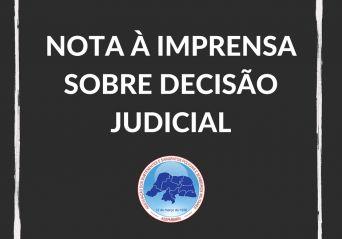 Nota sobre decisão judicial